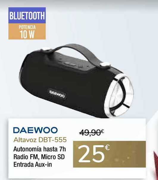 Carrefour Daewoo Altavoz DBT-555