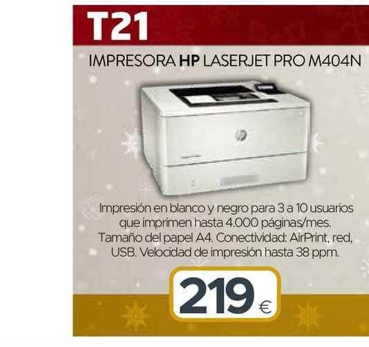 Tien 21 Impresora Hp Laserjet Pro M404n