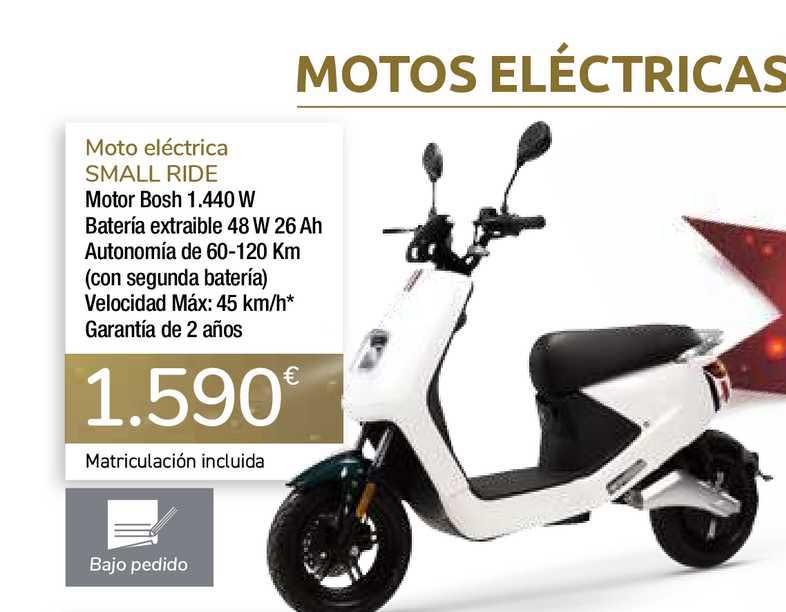 Carrefour Moto Eléctrica Small Ride