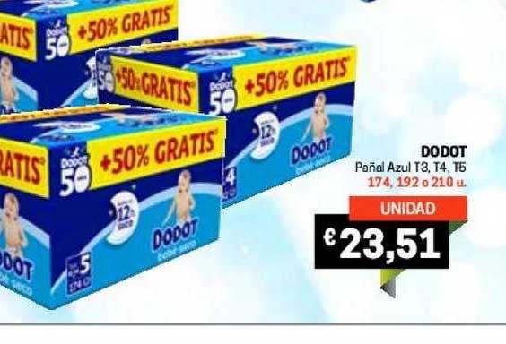 Gros Mercat Dodot Pañal Azul T3, T4, T5