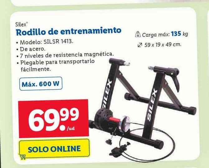 LIDL Silex Rodillo De Entrenamiento