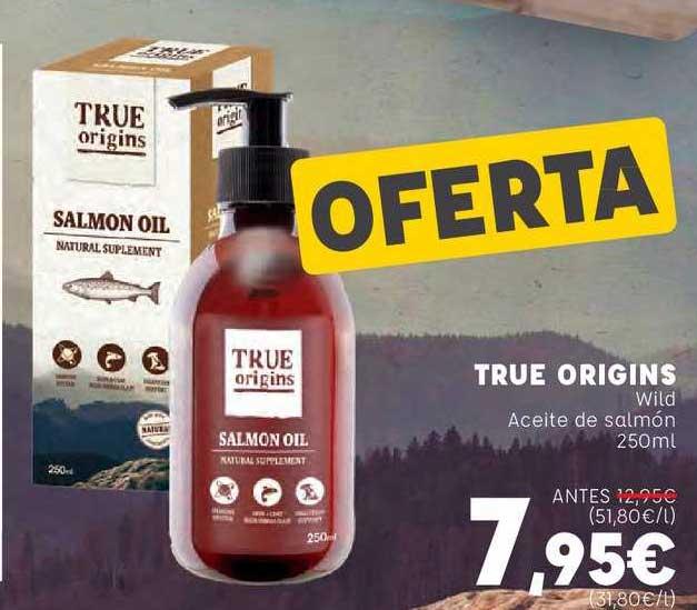 Kiwoko True Origins Wild Aceite De Salmón 250ml