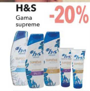 Clarel -20% H&s Gama Supreme