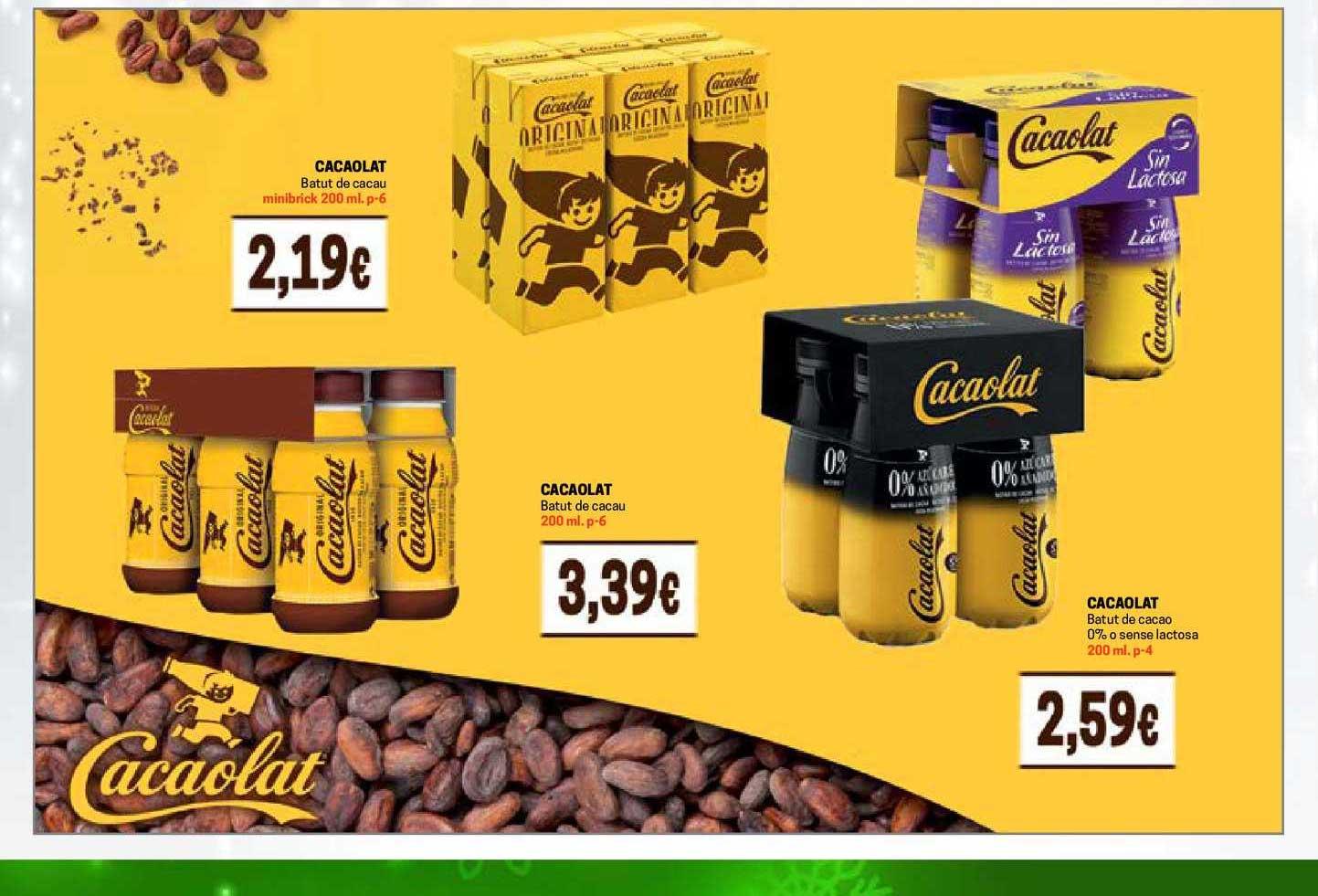Gros Mercat Cacaolat