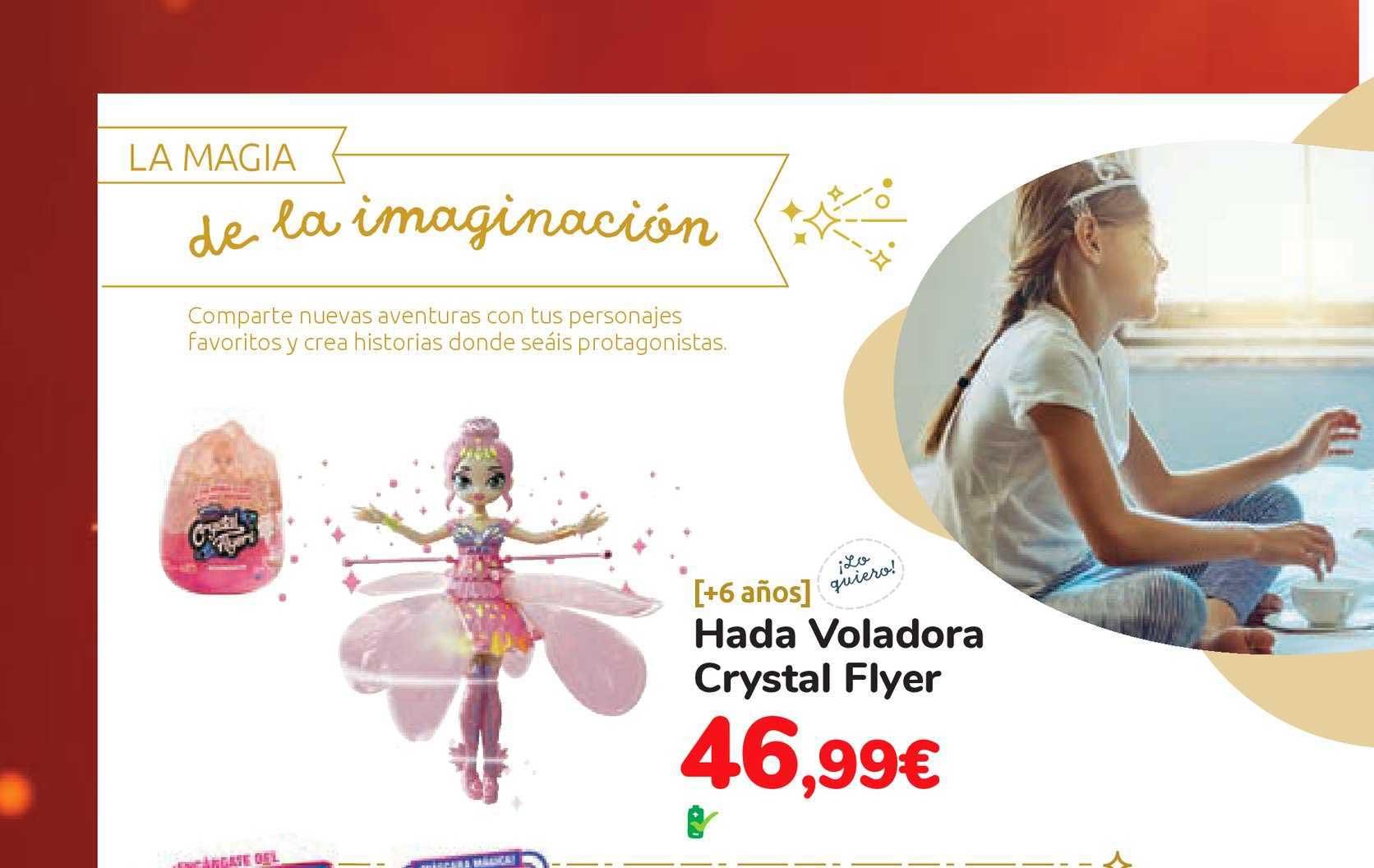 Carrefour Hada Voladora Crystal Flyer