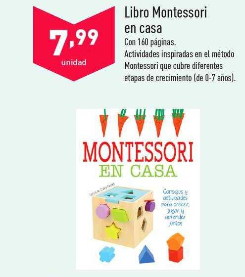 ALDI Libro Montessori En Casa