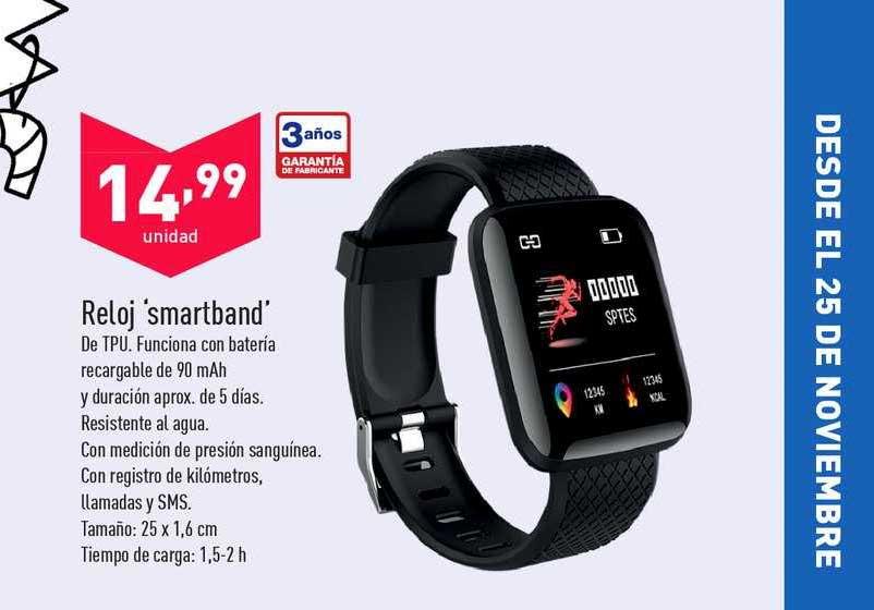 ALDI Reloj 'smartband'