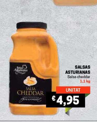 Gros Mercat Salsas Asturianas Salsa Cheddar