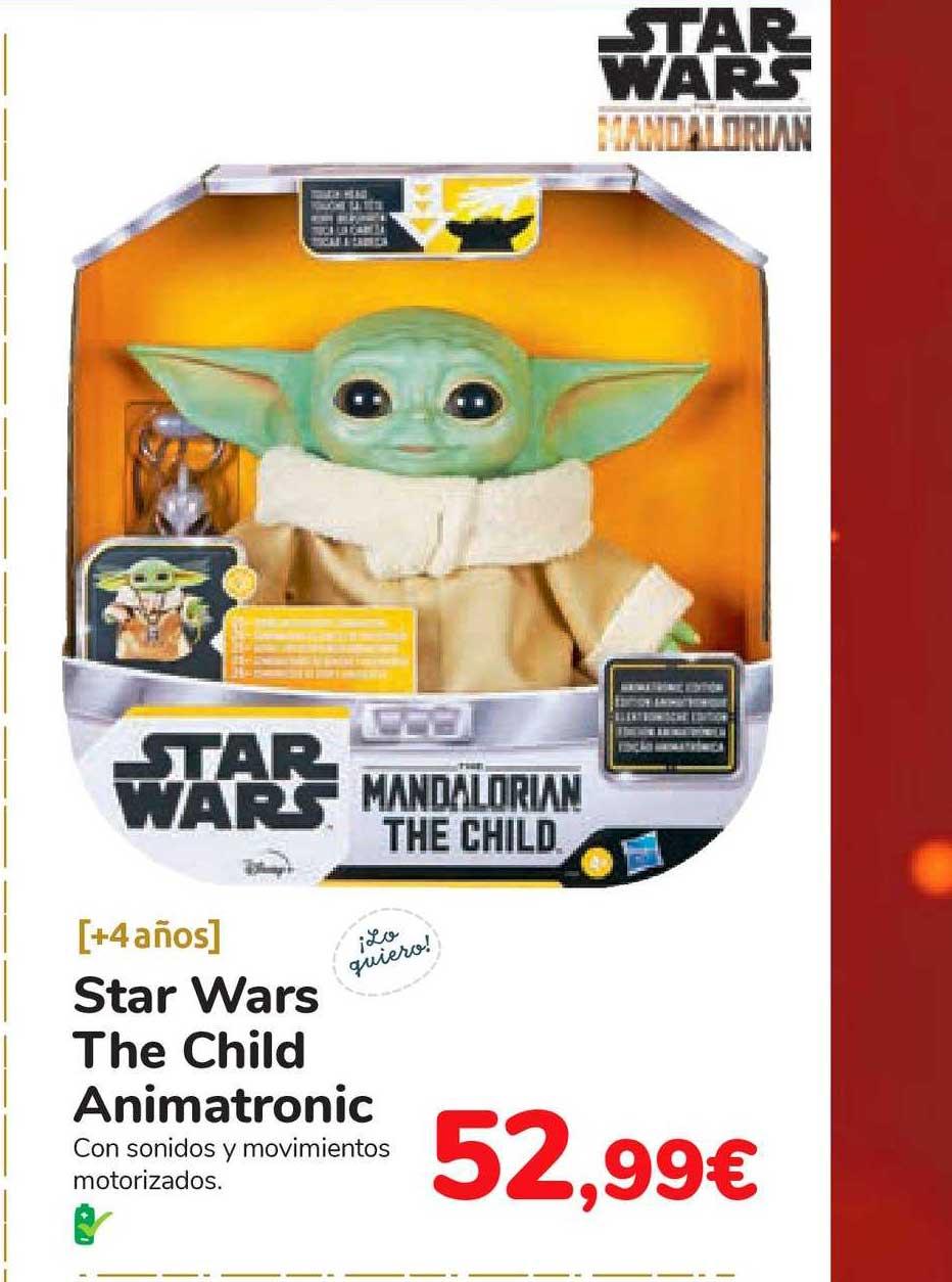 Carrefour Star Wars The Child Animatronic
