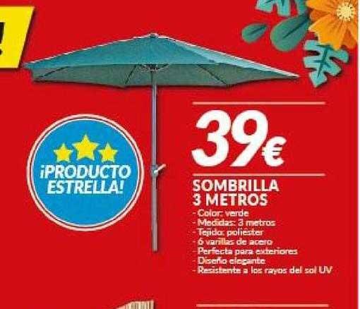 Embargos A Lo Bestia Sombrilla 3 Metros