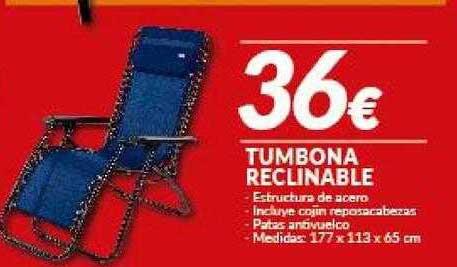 Embargos A Lo Bestia Tumbona Reclinable