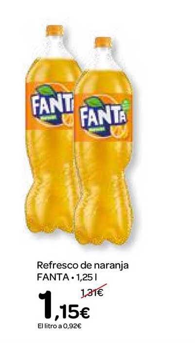 Dialprix Refresco De Naranja Fanta