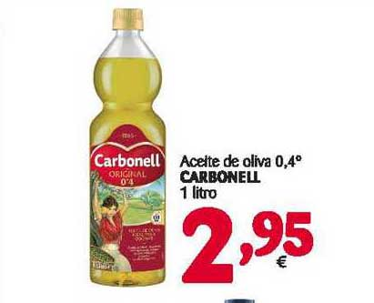 Alimerka Aceite De Oliva 0,4° Carbonell 1 Litro
