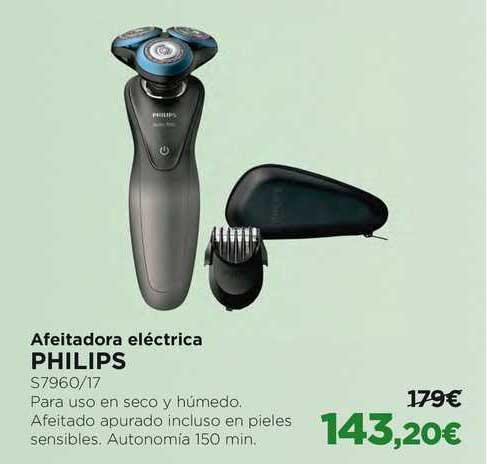 Oferta Afeitadora Eléctrica Philips En El Corte Ingles