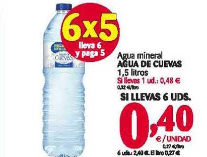 Alimerka Agua Mineral água De Cuevas