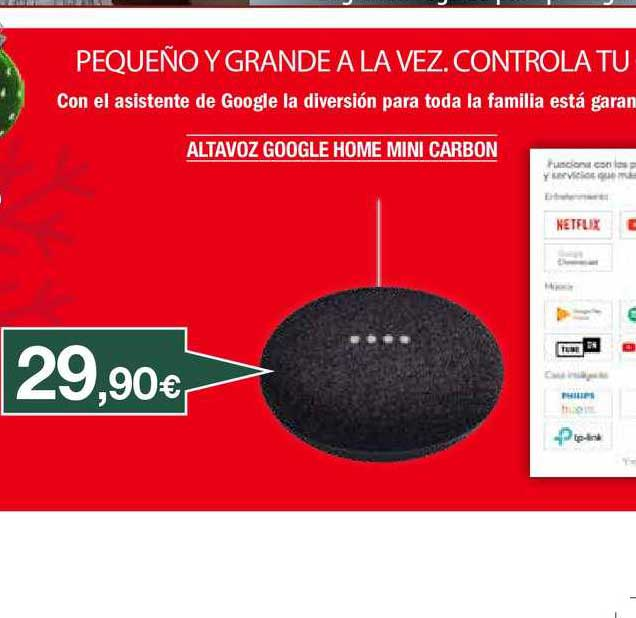 Milar Altavoz Google Home Mini Carbon
