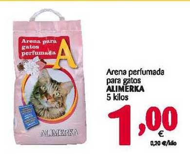 Alimerka Arena Perfumada Para Gatos Alimerka