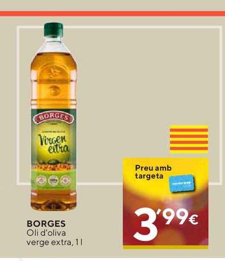 Caprabo Borges Oli D'oliva Verge Extra