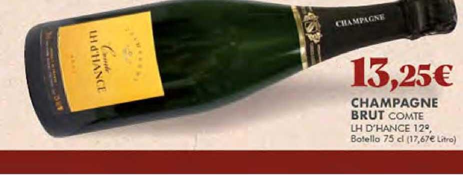 Gadis Champagne Brut Comte Lh D'hance