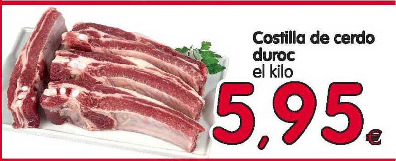 Alimerka Costilla De Cerdo Duroc