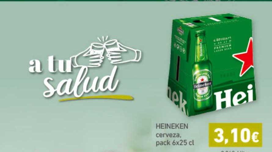 HiperDino Heineken Cerveza