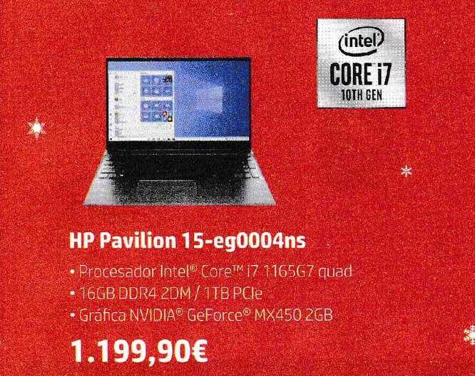 Fnac Intel Hp Pavilion 15 Eg0004ns