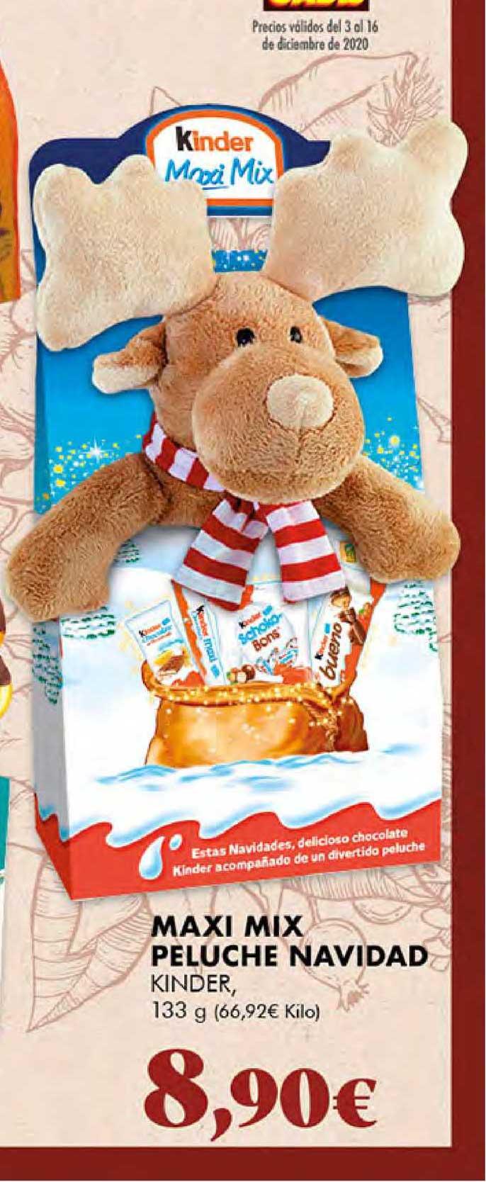 Gadis Maxi Mix Peluche Navidad Kinder