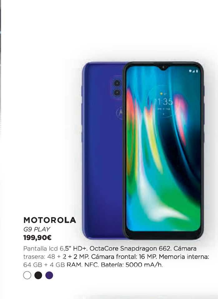 Oferta Motorola G9 Play En El Corte Ingles