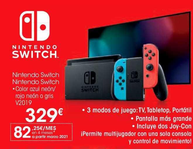 EROSKI Nintendo Switch