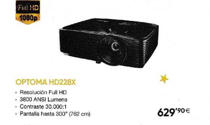 Fnac Optoma HD228X