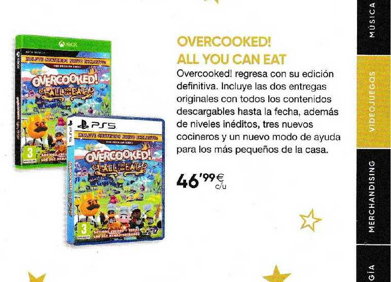 Fnac Overcooked! All You Can Eat