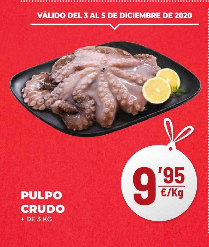 AhorraMas Pulpo Crudo + De 3 Kg
