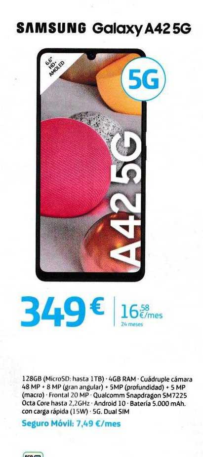 Movistar Samsung Galaxy A42 5g