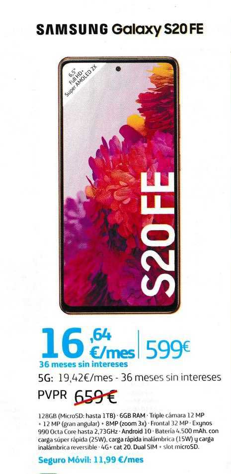 Movistar Samsung Galaxy S20 Fe