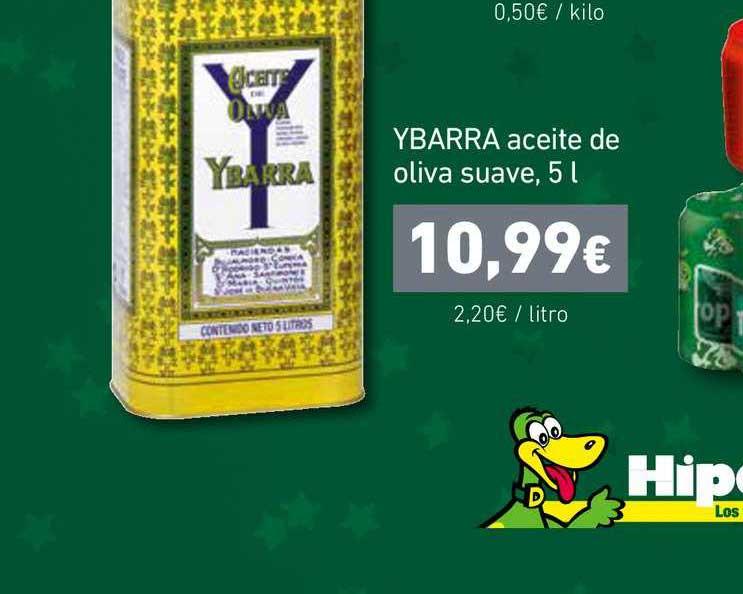 HiperDino Ybarra Aceite De Oliva Suave