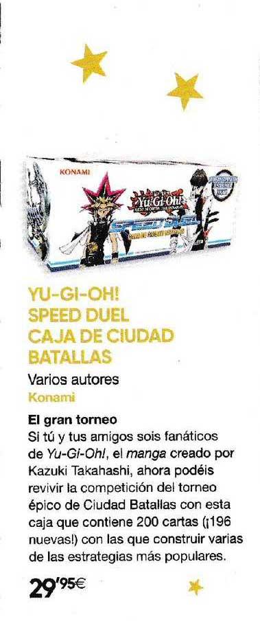 Fnac Yu Gi Oh! Speed Duel Caja De Ciudad Batallas