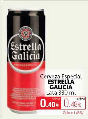 Cuevas Cash Cerveza Especial Estrella Galicia