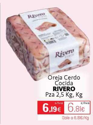 Cuevas Cash Oreja Cerdo Cocida Rivero