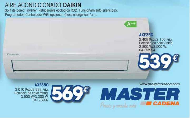 Master Cadena Aire Acondicionado Daikin