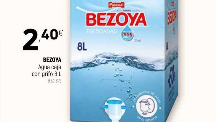 Coviran Bezoya Agua Caja Con Grifo 8l