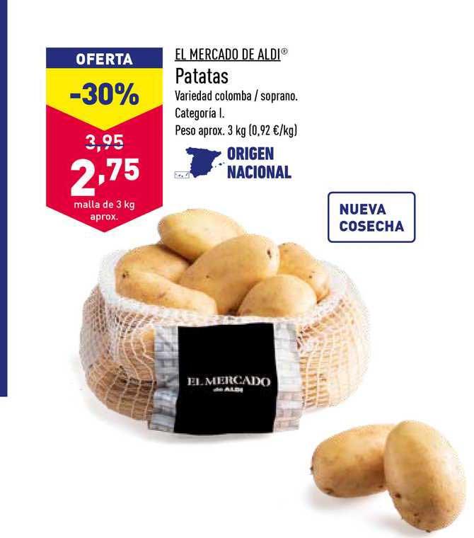 ALDI El Mercado De Aldi Patatas