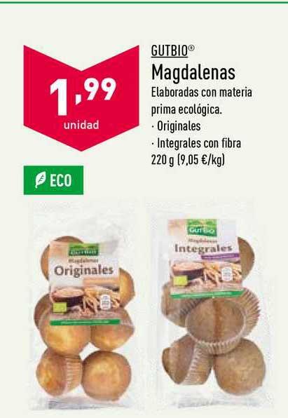 ALDI Gutbio Magdalenas