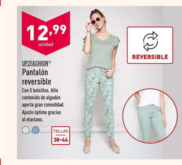ALDI Up2fashion Pantalón Reversible