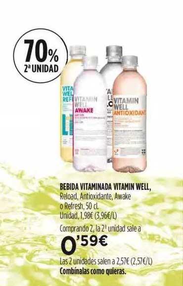 Fotoprix Bebida Vitaminada Vitamin Well