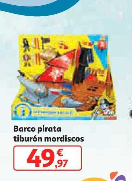 Alcampo Barco Pirata Tiburón Mordiscos