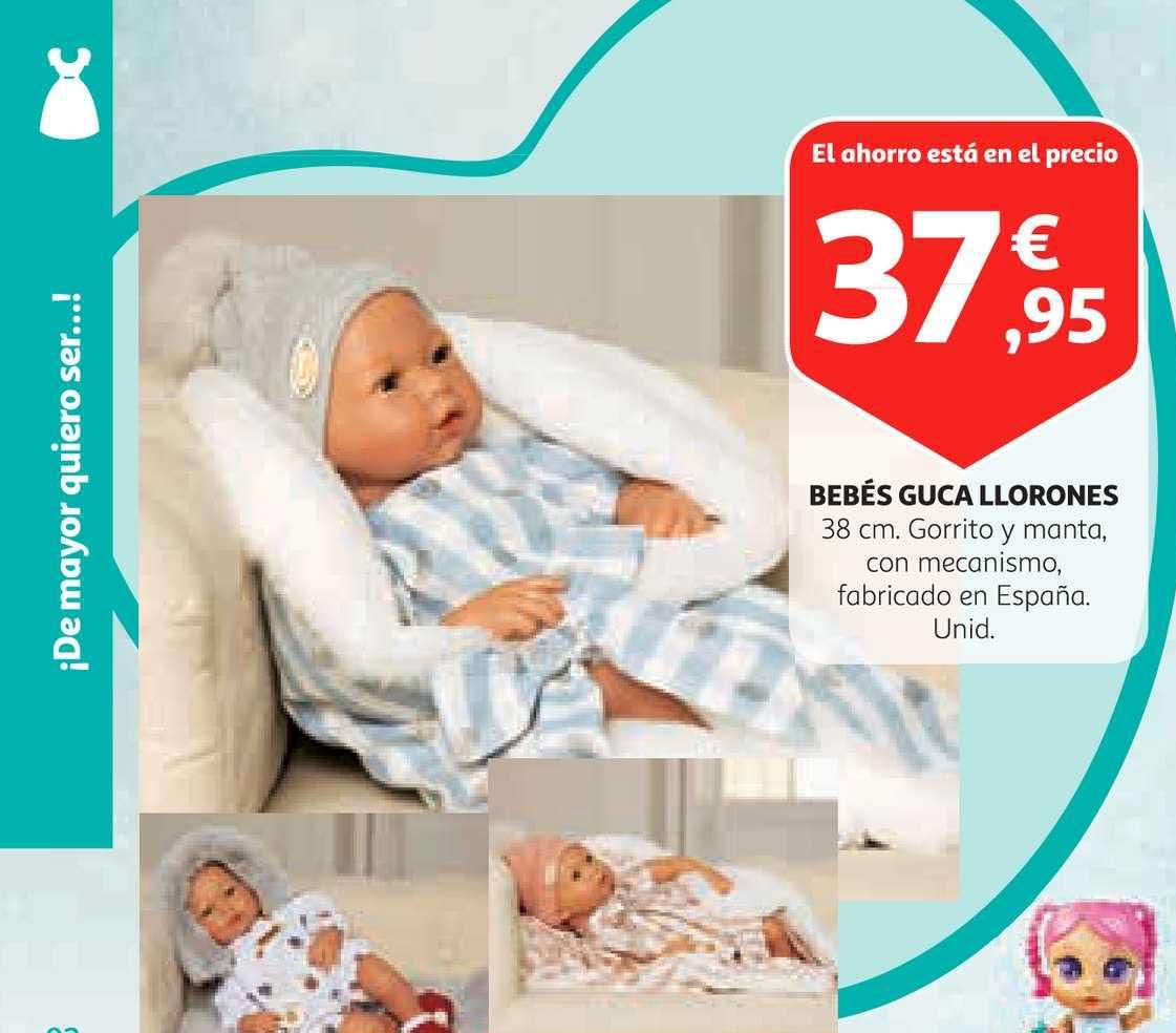 Alcampo Bebés Guca Llorones