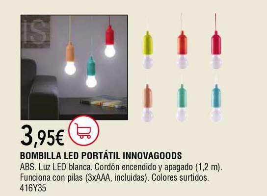 Cadena88 Bombilla Led Portátil Innovagoods