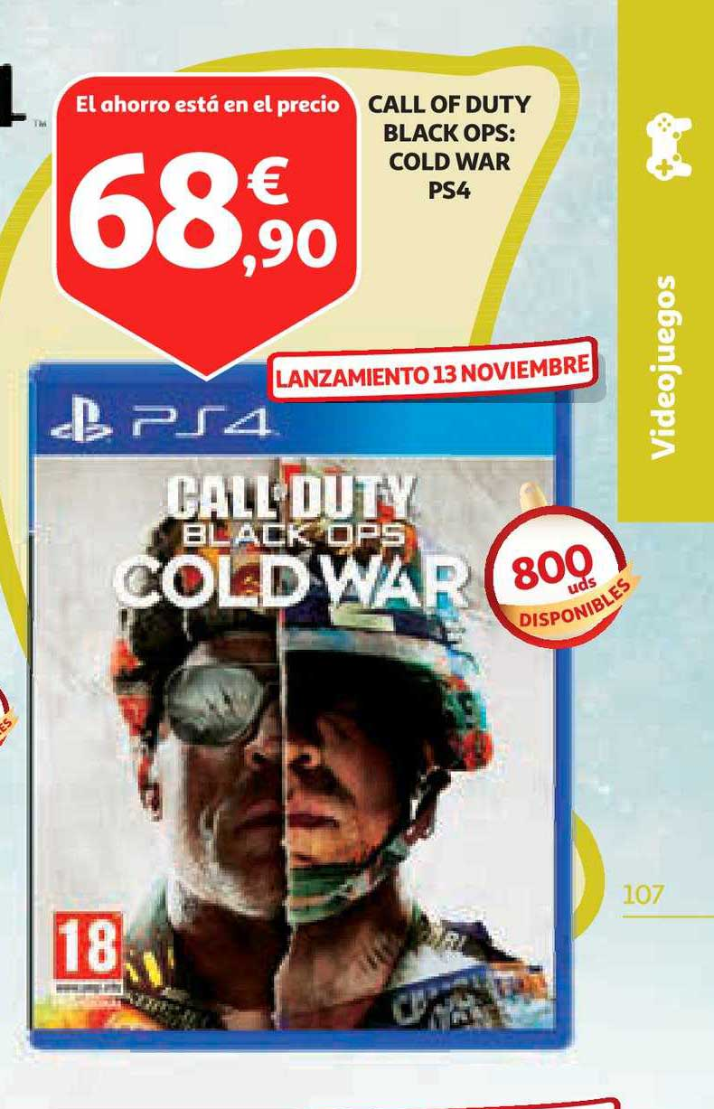 Alcampo Call Of Duty Black Ops: Cold War Ps4
