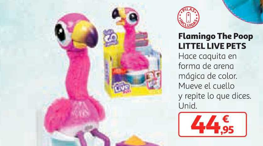 Alcampo Flamingo The Poop Tittel Live Pets