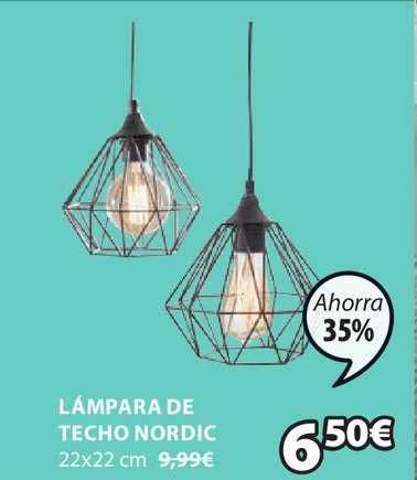 JYSK Lámpara De Techo Nordic